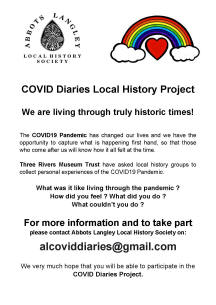 COVID Diaries poster